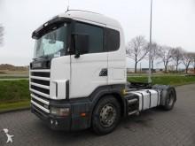Scania R124.400 CR19 MANUAL HYDRAULI tractor unit