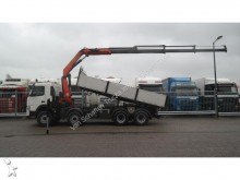 Volvo FM 400 8X4 3 SIDE TIPPER MANUAL GEARBOX WITH PAL tractor unit