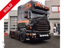 trattore Scania LA R500 4X2 MNA CR 19 TOPLINE BCK & ORANGE TOP