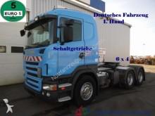 cabeza tractora Scania R420 6x4 Schaltgetriebe*1.Hand*Deutsche