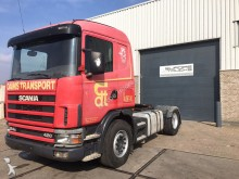 Scania 124 420 Manual - Airco - Steel / Air tractor unit