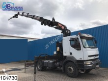 Renault Kerax 420 Manual, PM 25 Crane, Retarder, Airco, tractor unit