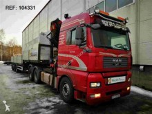 trattore MAN TGA28.480 - SOON EXPECTED - HMF 4220 + JIB 3 AXLE SEMI TRAILER