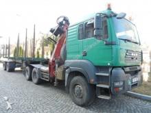 cabeza tractora MAN MAN 33.480 6x6 BL Ciągnik siodłowy do lasu z naczepą