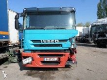 damaged low bed tractor unit