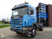 Scania 124C420 / 4x4 / Full steel / Manual / Hydraulics tractor unit