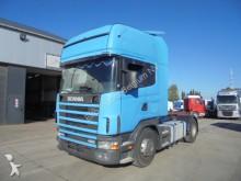 cabeza tractora Scania 124-420 Topline (RETARDER / AIRCO)