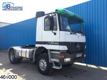 Mercedes Actros 2040 4x4, Manual, Retarder, Airco, Steel tractor unit