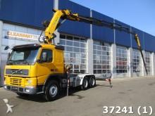 trattore Volvo FM 12.420 6x4 Palfinger 44 ton/meter Kran + Fly-