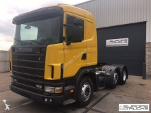 cabeza tractora Scania 124 420 6x2 - Manual - Airco - Steel/Air