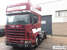 Scania L 124 420 6x2 - Manua - Retarder - Stee/Air tractor unit