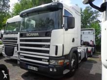 Scania 124 420 NA PD MANUAL Z POŁOWKAMI KLIMA RETARDER 100% ORYGINAŁ tractor unit