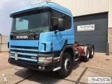 Scania P124 400 6x4 - Full Steel - Manual - Hydraulics tractor unit