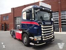 Scania R500 streamline MANUEL Kipperhydraulic tractor unit