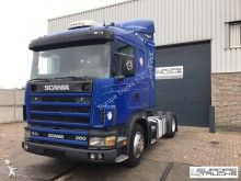 Scania 114 380 Manual - Airco - 2 tanks - Steel / Air tractor unit