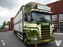 trattore Scania 114G 2 deks veewagen FULL STEEL SUSPENSION