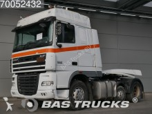 cabeza tractora DAF XF105.460 RHD Unfall ONLY CHASSIS & CABIN 6X2 Ma