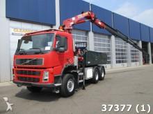 cabeza tractora Volvo FM 380 6x6 HMF 22 ton/meter Kran
