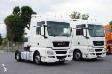 tracteur MAN TGX / 18.480 / XXL / MANUAL / NAVI / BAKI 1400 L