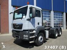 cabeza tractora MAN TGS 33.400 BB 6x4 Hydraulic Steel suspension