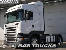 cabeza tractora Scania R450 4X2 Retarder ACC AEB Navi Euro 6 German-Tru