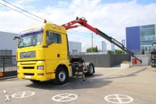 MAN TGA 18.440 + kraan HMF 1723 (crane/grue) tractor unit