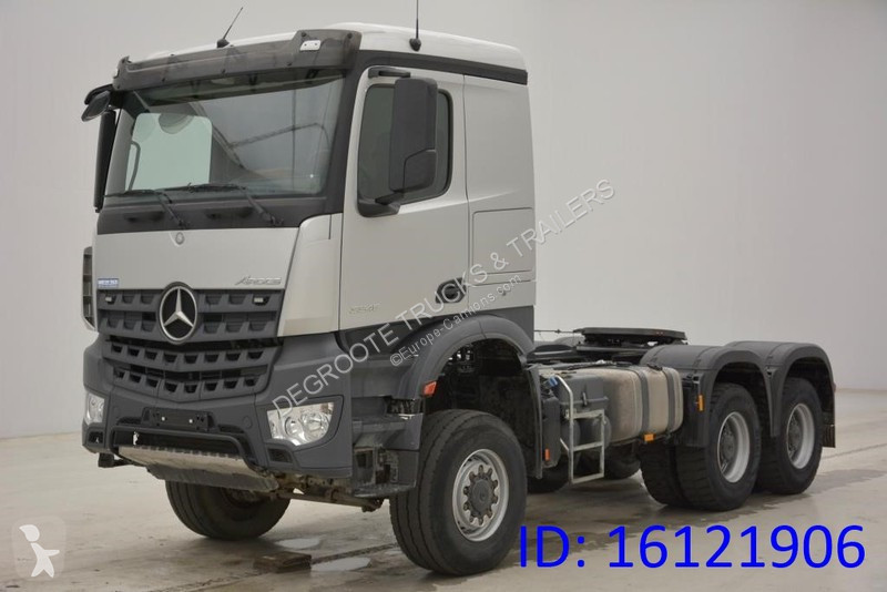 used mercedes arocs standard tractor unit 6x6 diesel euro 6 n 2120019. Black Bedroom Furniture Sets. Home Design Ideas