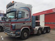 tracteur Scania 164-480 MANUEL RETRADER 150 TON