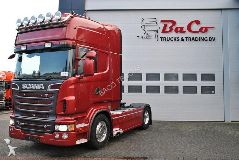 cabeza tractora scania r 500 tl v8 retarder top condition 4x2 diesel euro 5 usada n 2208999. Black Bedroom Furniture Sets. Home Design Ideas