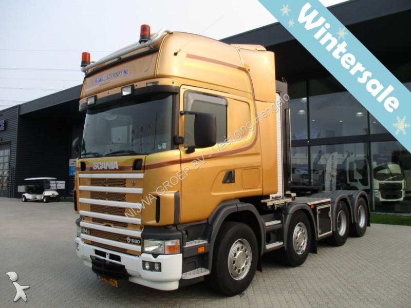 tracteur scania standard r 164 8x4 gazoil euro 3 occasion n 2263175. Black Bedroom Furniture Sets. Home Design Ideas