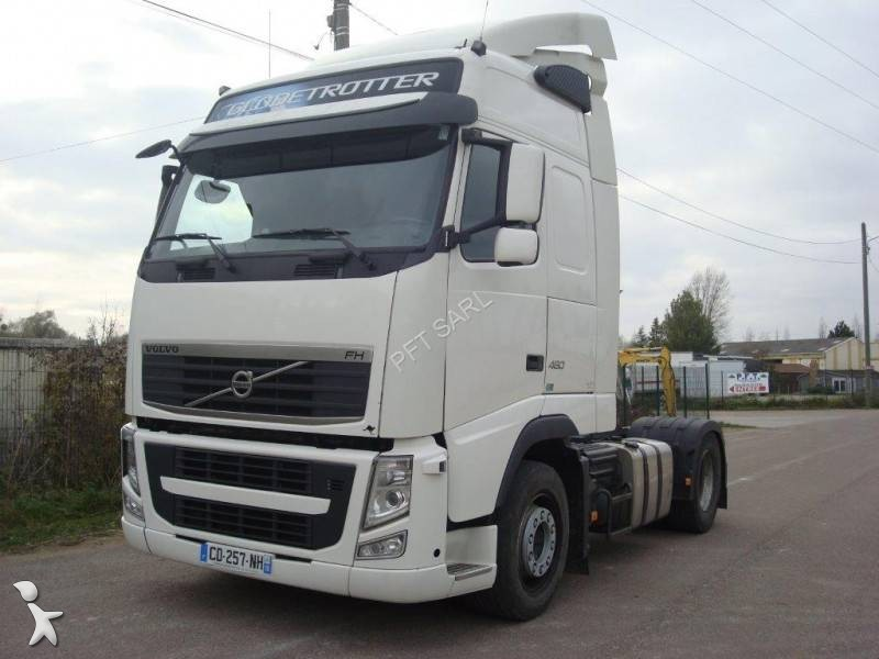 tracteur volvo standard fh 460 globetrotter euro 5 occasion n 2321612. Black Bedroom Furniture Sets. Home Design Ideas