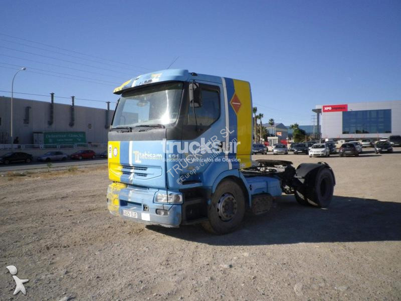 Renault 420 DCI tractor unit