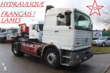 tracteur Renault G340 - HYDRAULIQUE DE BENNE - LAMES - FRANCAIS - TRES PROPRE !!
