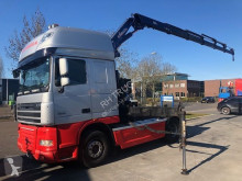 tracteur DAF 105-460 HYVA CRANE 24 T/M 6X HYDR REMOTE CONTROLE