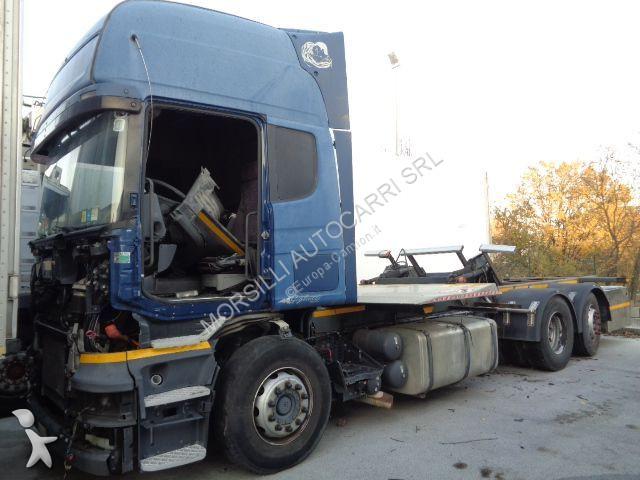 Scania 500 6X2 MNB CASSE MOBILI tractor unit