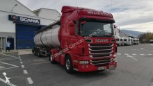 Scania hazardous materials / ADR tractor unit