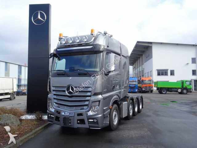 Mercedes Actros 4163 8x4 LS SLT 250 Tonnen Euro 6 Standk tractor unit