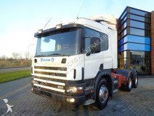 Scania 124.420 / Manual / / Full Steel tractor unit