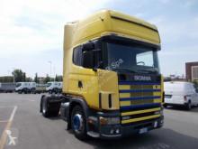 Scania LA R 124 LA 4X2 NA 420 tractor unit