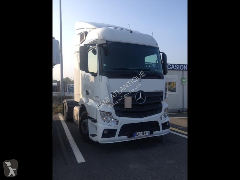 Mercedes II 1845 Streamspace 2.3 m E6 tractor unit