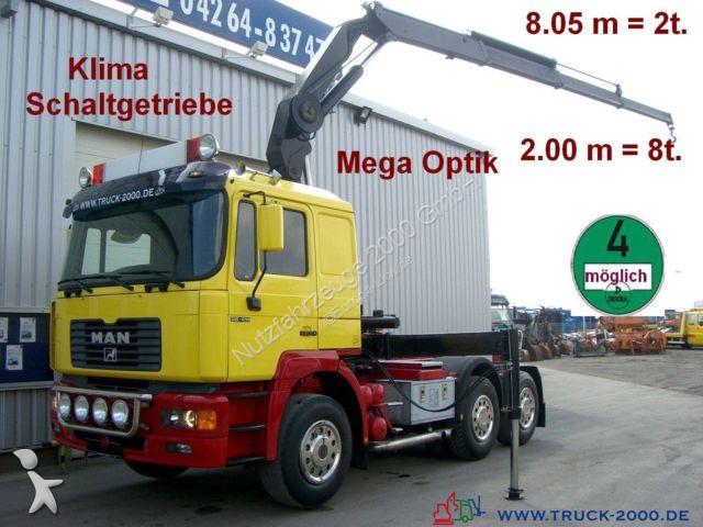 MAN 26.414 Fassi Kran 8.05m=2t.*2.00m=8t.*Schaltung tractor unit