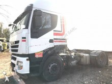 damaged tractor unit
