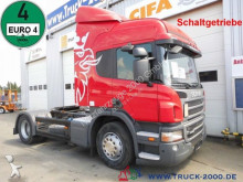 cap tractor Scania P 340 Special tractor unit for car transporter