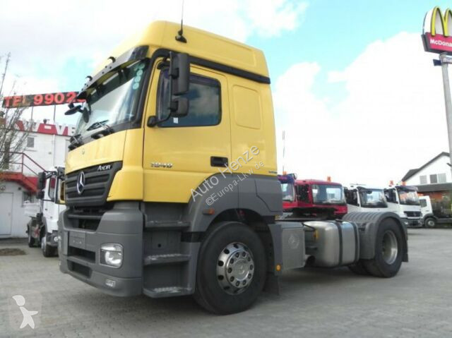 View images Mercedes Axor 1840 Sattelzugmaschine  tractor unit