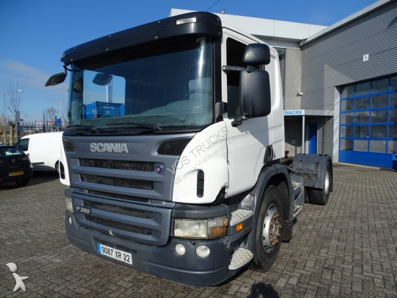 used scania p standard tractor unit 380 4x2 diesel euro 4. Black Bedroom Furniture Sets. Home Design Ideas