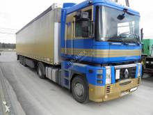 ciągnik siodłowy Renault + semi remorque rideaux coulissants (plsc)