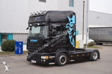 Scania R440 4x2 LowLiner Topline Leder Alcoa TOP Euro-6 tractor unit