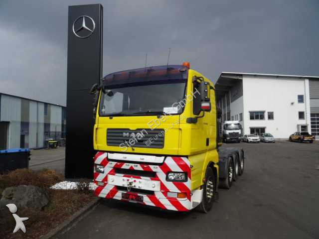 MAN TGA 41.530 8x4 Schwerlast Retarder Klima tractor unit