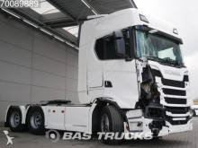 Scania S520 V8 Unfall Fahrbahr Liftachse tractor unit