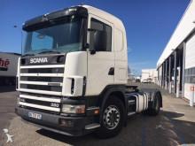 Scania 114L 380 BOITE MANUELLE + HYDRAULIQUE *GARAGISTE OU EXPORT* tractor unit